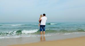 Padre e figlia immagini stock