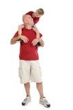 Padre e figlio insieme Fotografie Stock Libere da Diritti