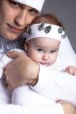 Padre e hija Fotografía de archivo