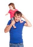 Padre e hija Imagenes de archivo