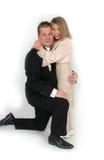 Padre e hija formales Imagenes de archivo