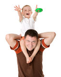 Padre e hijo Fotografía de archivo