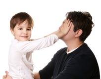 Padre e hijo Imagen de archivo libre de regalías