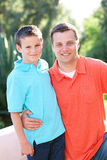 Padre e hijo Foto de archivo