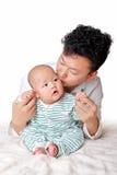 Padre e hijo 2 Fotografía de archivo libre de regalías