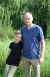 Padre e hijo Fotos de archivo libres de regalías