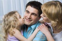 Padre felice Immagine Stock Libera da Diritti