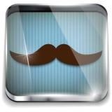 Padre felice Day Mustache Gift royalty illustrazione gratis