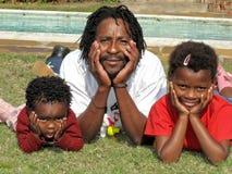 Padre feliz Imagenes de archivo
