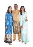 Padre malayo And Daughters V Imágenes de archivo libres de regalías