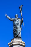 Padre Miguel Hidalgo Statue Dolores Hidalgo México imagenes de archivo