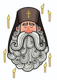 Padre ortodoxo Foto de Stock Royalty Free
