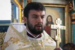 Padre ortodoxo Foto de Stock