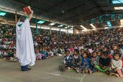 Padre Pedro Opeka Fotos de archivo libres de regalías
