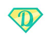 Padre Superhero Symbol Foto de archivo