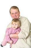 Padre y niño felices Imagenes de archivo
