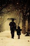 Padre y niño Fotografía de archivo libre de regalías