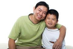 Padre y yo Fotografía de archivo