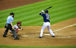 Padres vs Diamondbacks Stock Photos