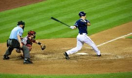 Padres vs Diamondbacks Royalty Free Stock Images