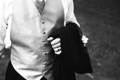 Padrino de boda Fotos de archivo