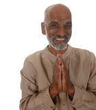 Padrone di yoga Immagini Stock