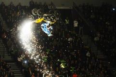 Padroni della manifestazione di moto della sporcizia Fotografia Stock