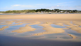 Padstow Beach in Cornwall, England royalty free stock images