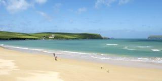 Padstow coastline. In Cornwall, England, United Kingdom Royalty Free Stock Photos