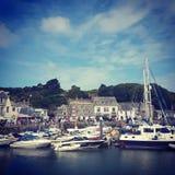 Padstow Cornwall arkivfoto