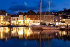 Padstow Cornwall. Padstow Harbour at Dusk, Cornwall England UK Royalty Free Stock Photography