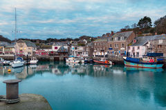 Padstow in Cornwall Royalty-vrije Stock Foto