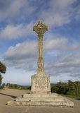 Padstow cornwall first world war memorial. Royalty Free Stock Photos