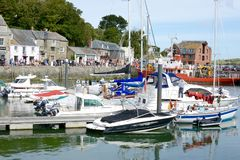 Padstow, Cornwall Stock Image