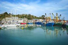 Padstow-Hafen Lizenzfreies Stockfoto