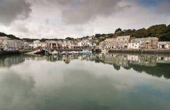 Padstow hamn, norr Cornwall, England Royaltyfria Bilder