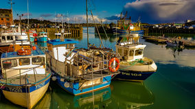 Padstow Harbour stock photography