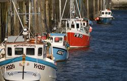 Padstow harbour Royalty Free Stock Images
