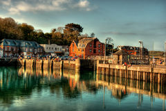 Padstow HDR Royalty Free Stock Images