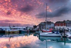 Padstow i Cornwall Royaltyfria Bilder
