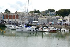 Padstow marina Stock Photo