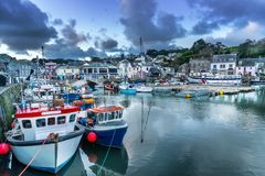 Padstow in north Cornwall royalty free stock images