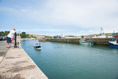 Padstow Port. Stock Photography