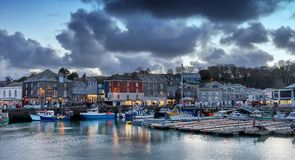 Padstow in north Cornwall royalty free stock photo