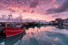 Padstow Sunrise Royalty Free Stock Image
