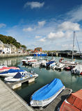 Padstowhaven, Cornwall, Engeland Royalty-vrije Stock Foto