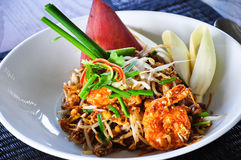 Padthai. The favorite thai noodle dish called Padthai Stock Photo