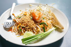 Padthai close up Stock Image