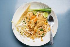 Padthai - famous noodles Stock Photo