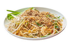 Padthai food from Thailand Royalty Free Stock Images